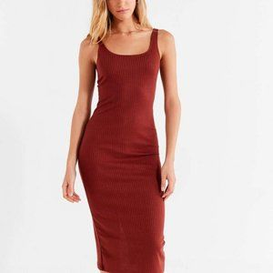 Urban Outfitters Ribbed Fitted slip dress